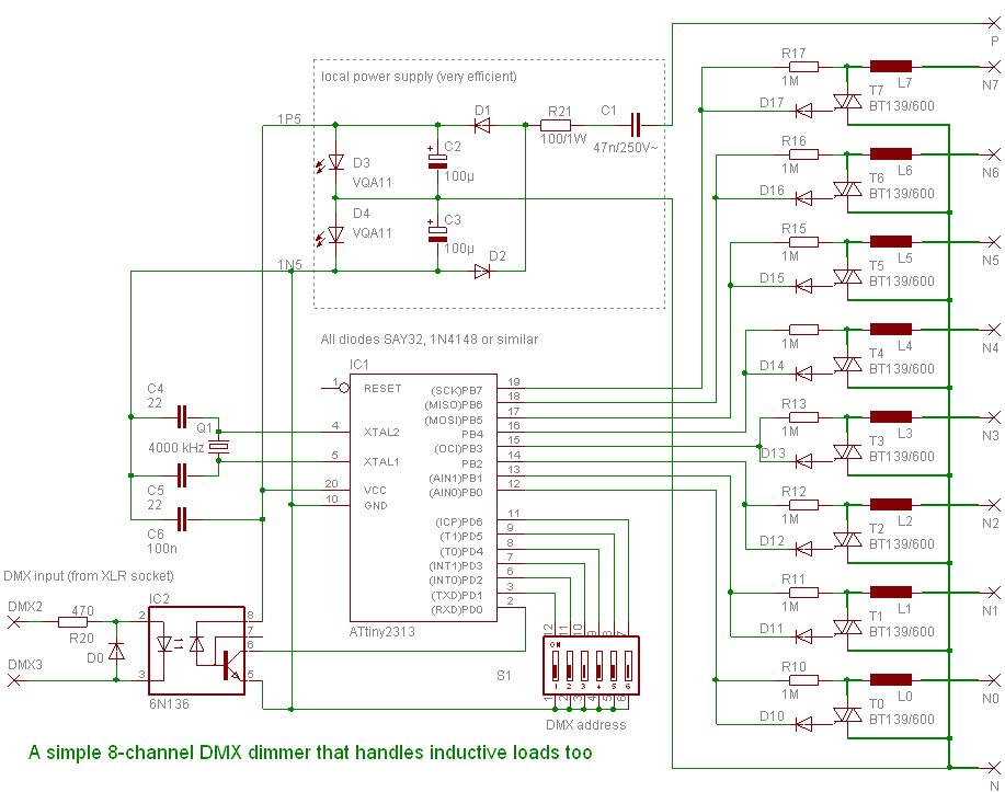 Simple Dmx Dimmer