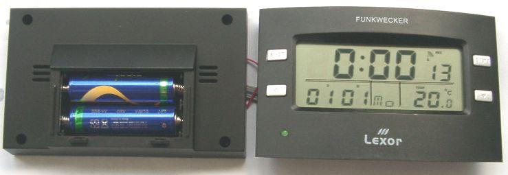 Funkuhr oder Funkwecker bauen  reparieren  erweitern