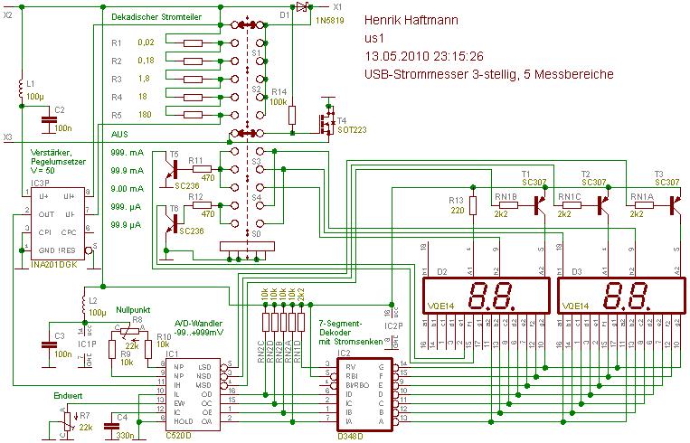 USB-Strommesser