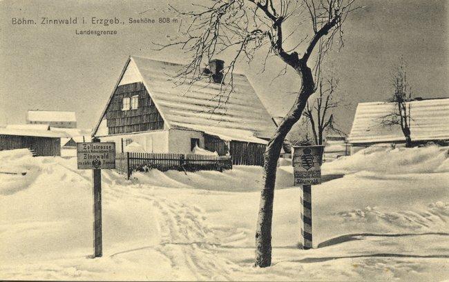 Zinnwald GrenzГјbergang